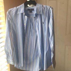 Ralph Lauren boys button down shirt 👔14/16